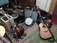 le colporteur en studio: les instruments de nicogé (sélection)