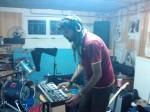 le colporteur en studio: nicogé au clavier